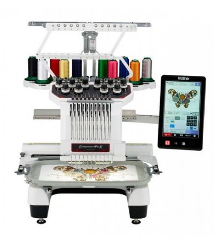 Brother  PR1050X Embroidery Machine Shop Dem